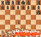 2 Kişilik Satranç Oyunu