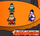 3 Kişilik Sumo Oyunu