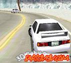 3D Sahil Drift Oyunu