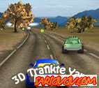 3D Trafikte Yarış Oyunu