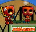 Ateşli Robot Oyunu