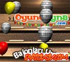 Balonları Vur Oyunu