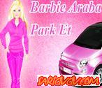 Barbie Araba Park Etme Oyunu
