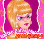 Barbie Bahar Makyajı  Oyunu