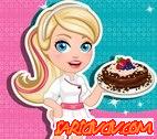 Barbie Çikolatalı Pasta Oyunu