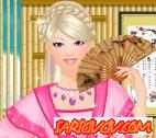 Barbie Çin Makyajı Oyunu