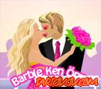 Barbie Ken Öpme  Oyunu
