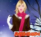 Barbie Kışlık Kıyafetler Oyunu