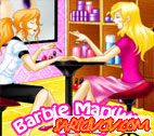 Barbie Manikür Salonu Oyunu