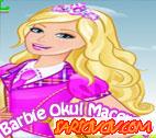 Barbie Okul Macerası Oyunu