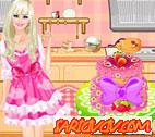 Barbie Pasta Yapma Oyunu