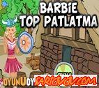 Barbie Top Patlatma  Oyunu