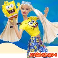 Barbie ve Sünger Bob Oyunu