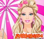 Barbie Yağmur Modası Oyunu