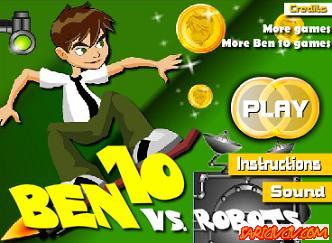 Ben 10 Robotlara Karşı Oyunu