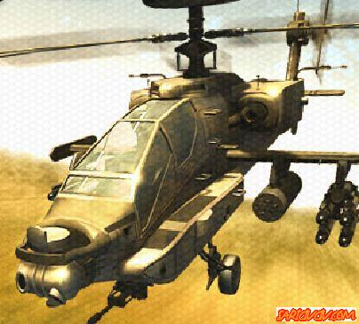 Bölümlü Savaş Helikopteri Oyunu