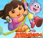 Dora Çiçekleri Topla Oyunu