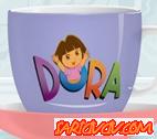 Dora Fincan Süsle Oyunu