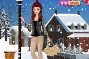 Kış giysi giydirme