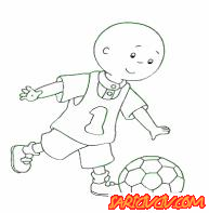 Futbolcu Kayu Boya Oyunu