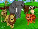 Hayvanat Bah�esi Boyama