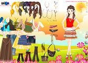 Hippi Kız Giydir
