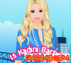 İş kadını Barbie Oyunu