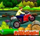 Justin Bieber Arazi Motoru Oyunu