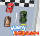 Karlı Yolda Araba Yarışı
