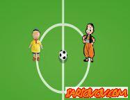 Kayu ve Keloğlan Futbol Oyunu