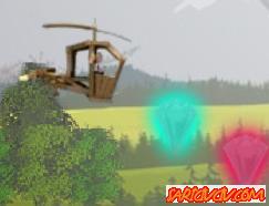 Keloğlan Helikopteri Oyunu