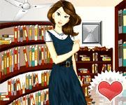 Kütüphaneci Güzel Kız