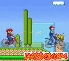 Mario Bisiklet Yarışı Oyunu