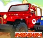 Mario Sonic Araba Yarışı Oyunu