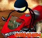 Motorcu Çöp Adam  Oyunu