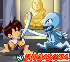 Ninja Ben 10  Oyunu