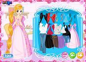 Nişanlı Prenses Giydir