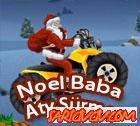Noel Baba Atv Sürme Oyunu