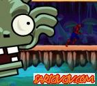 Örümcek Adam Zombiden Kaç Oyunu