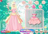 Pembe Prenses  Giydir