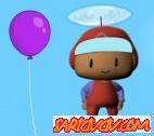 Pepee ile Balonlar� Yakala Oyunu