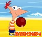 Phineas ve Ferb Basket Oyunu