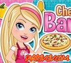 Şef Barbie İtalyan Pizza Oyunu