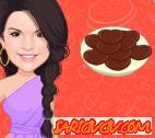 Selena Gomez Kurabiye Pişirme Oyunu