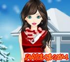 Sevimli Kış Kızı Oyunu