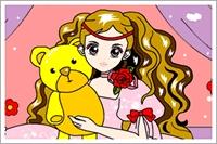 Sevimli Kız Boyama
