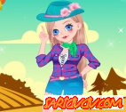 Sevimli Kovboy Kız  Oyunu