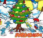 Şirinler Noel Ağacı Oyunu
