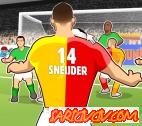 Sneijder Kafa Golü Oyunu