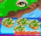 Soslu Somon Balığı Oyunu